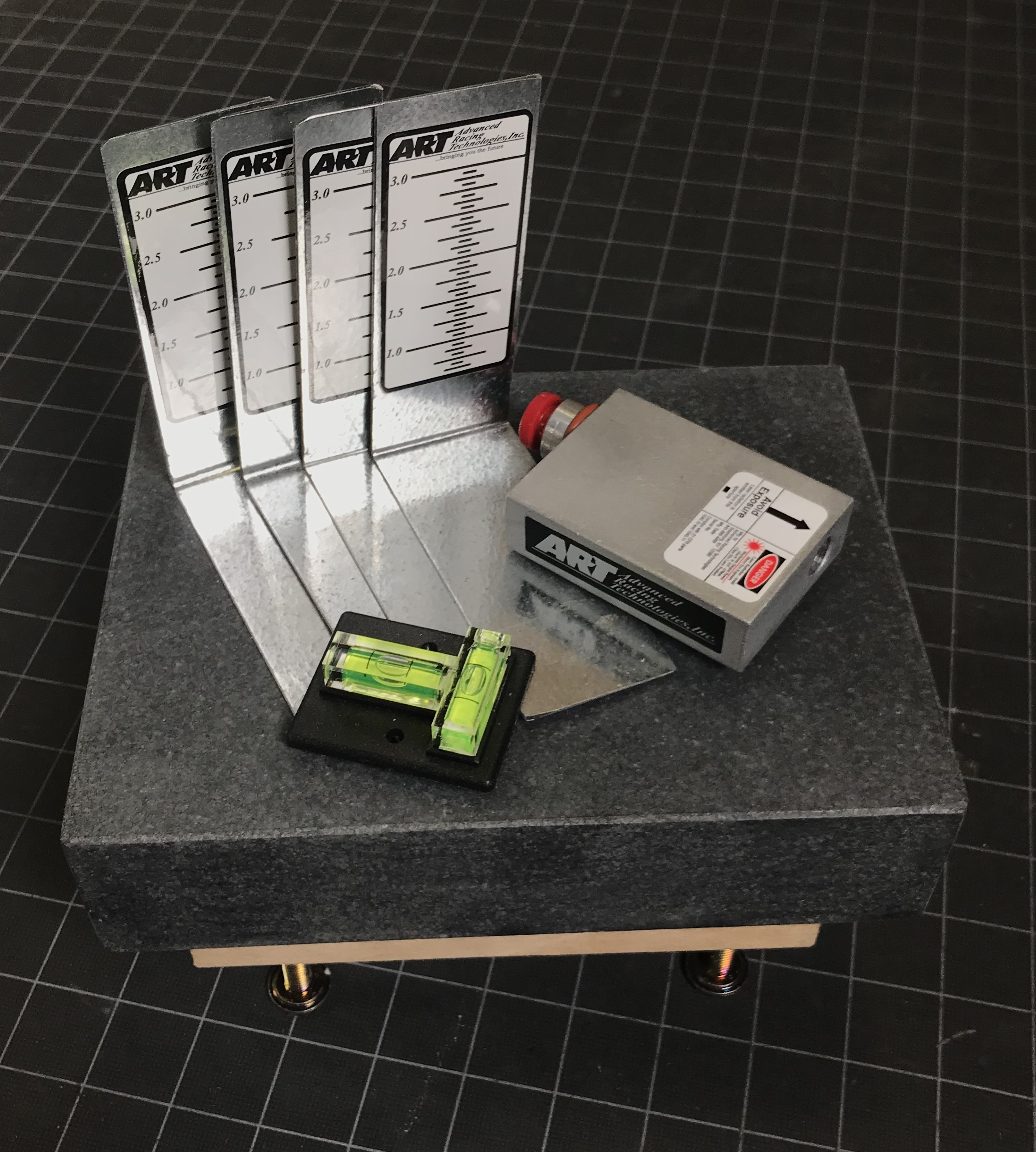 Laser Scale Leveler